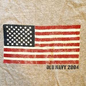 🇺🇸Men's 2004 Flag T-shirt🇺🇸